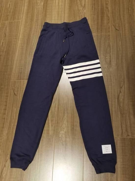 Thom Browne Thom Browne lounge classic sweatpants navy Size US 34 / EU 50 - 2