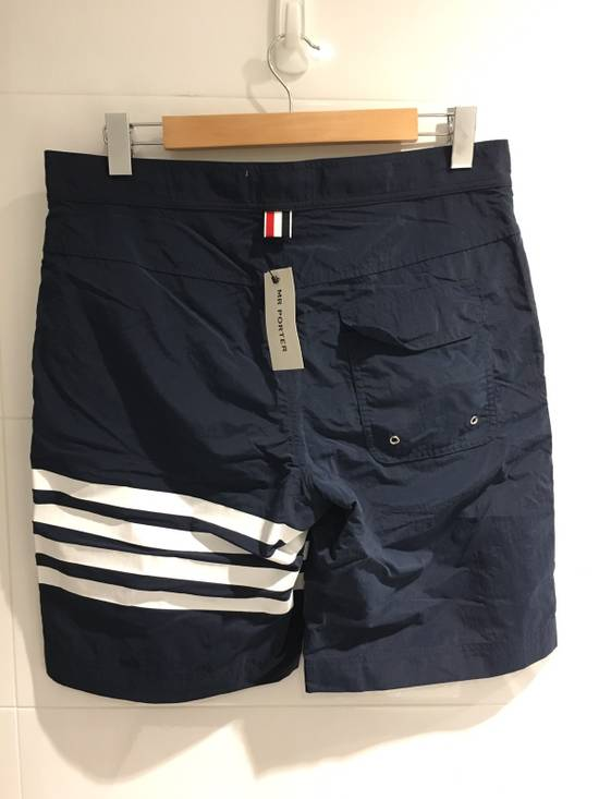 Thom Browne Long-Length Striped Swim Shorts Size US 33 - 1