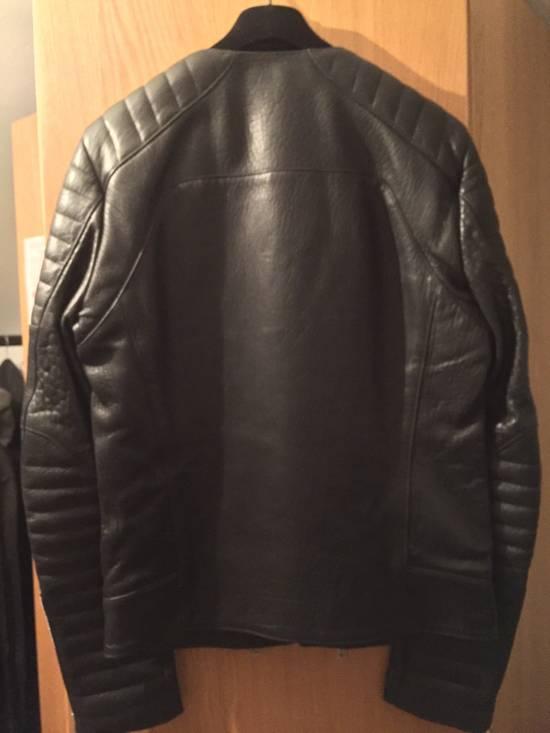 Balmain Leather Biker Jacket Lambskin Original SS12 Brand New Size US M / EU 48-50 / 2 - 6