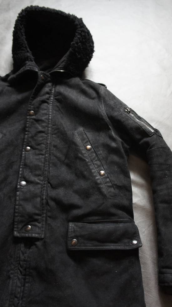 Balmain AW10 waxed parka by Decarnin Size US M / EU 48-50 / 2 - 2