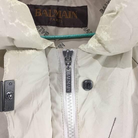 Balmain LUXURY!! BALMAIN Paris Monogram Down Jacket Puffer Jacket / Fall & Winter Hypebeast Jacket / Balmain Raincoat Size US L / EU 52-54 / 3 - 7