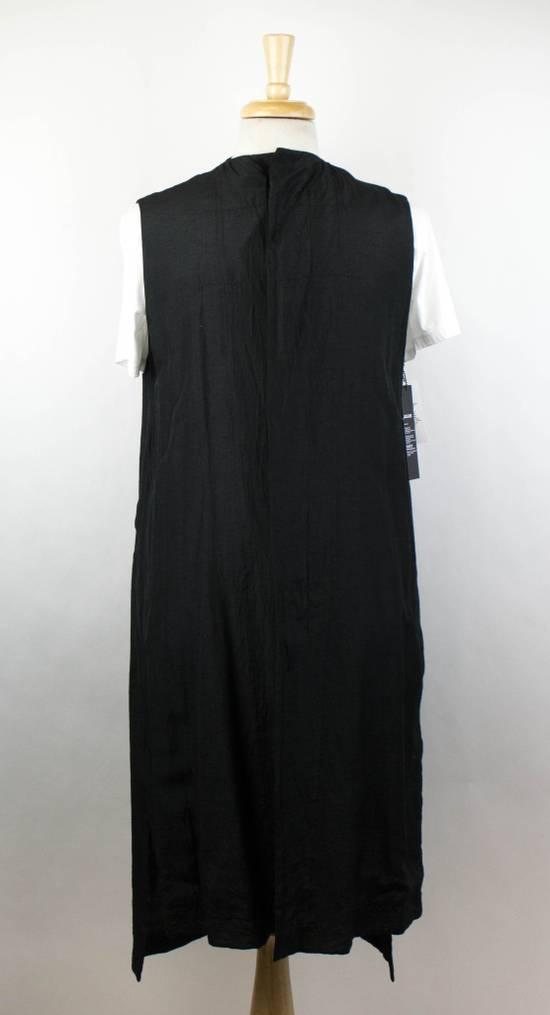 Julius 7 Men's Black Silk Blend Long Vest Size 3/M Size US M / EU 48-50 / 2