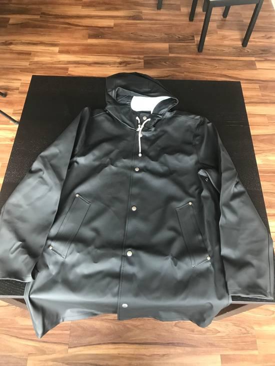 Stutterheim Stockholm Raincoat Black Size US L / EU 52-54 / 3
