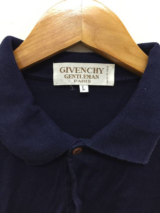 Givenchy 80's GIVENCHY embroidered logo pocket polo t shirt Size US S / EU 44-46 / 1 - 7