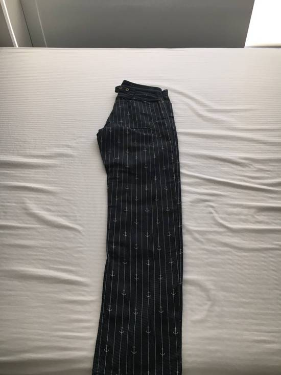 Thom Browne Anchor Striped Pants Size US 30 / EU 46 - 1