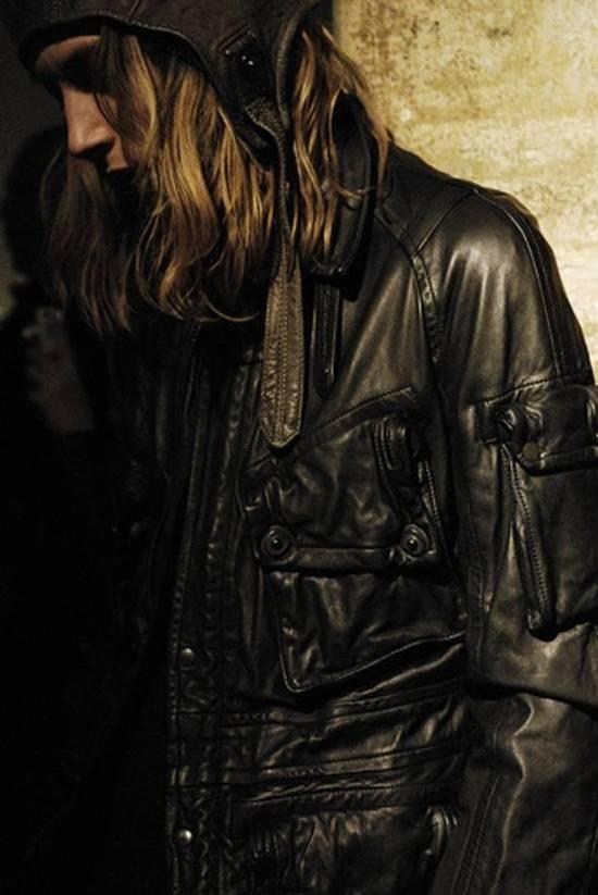 Julius Final Price! AW08 gasmask M65 leather jckt Size US L / EU 52-54 / 3 - 3