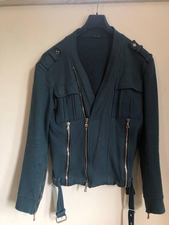 Balmain Cotton Biker Jacket Size US L / EU 52-54 / 3