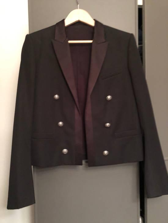 Balmain Balmain Jacket with satin lapel Size 50R