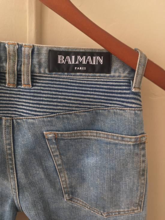 Balmain Balmain Bikers Sand Wash Jeans Size US 28 / EU 44 - 2