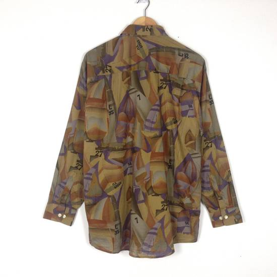 Givenchy Givenchy Alloverprint Luxury Button Down Shirt Size US L / EU 52-54 / 3 - 1