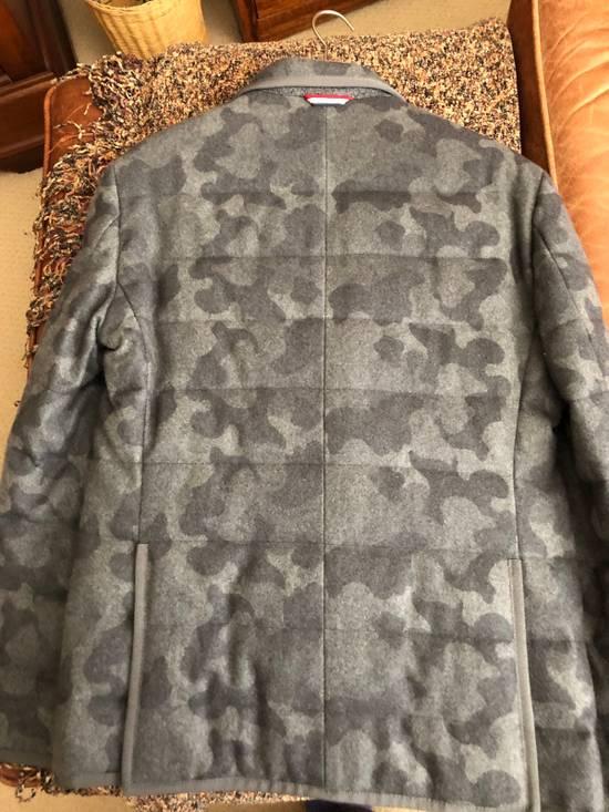 Thom Browne Moncler Gamme Bleu Camo Cashmere Blazer Size 38R - 9