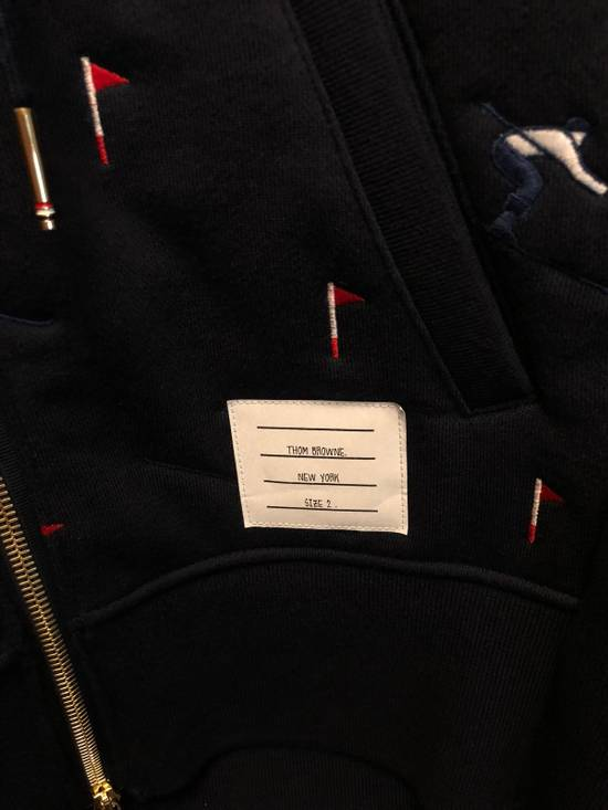 Thom Browne Skier Quilted Hoodie Size US M / EU 48-50 / 2 - 5
