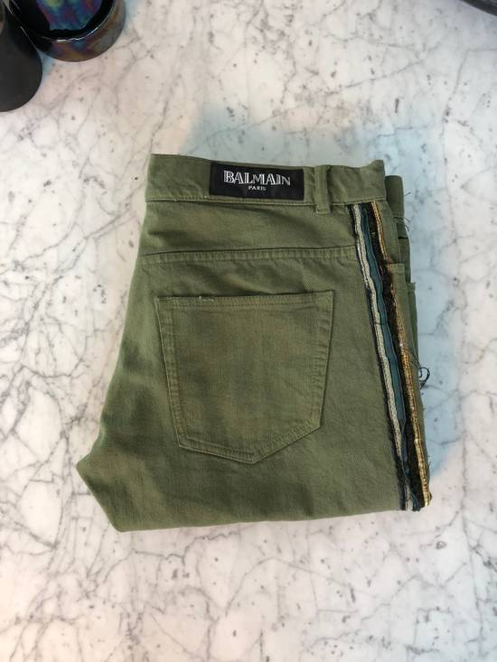 Balmain LAST DROP STEAL Side Leg Pipping Size US 31 - 2