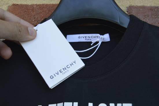 "Givenchy Black ""I Feel Love"" T-shirt Size US XS / EU 42 / 0 - 2"