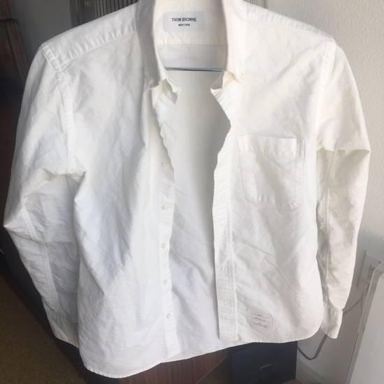 Thom Browne White Shirt Size 2 Size US M / EU 48-50 / 2