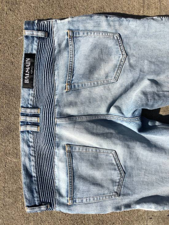 Balmain Balmain Denim Light Indigo Basically Brand New ! Size US 34 / EU 50 - 9
