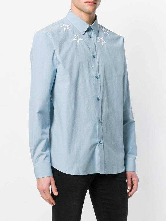 Givenchy Givenchy star embroidered blue shirt sz 38 Size US S / EU 44-46 / 1 - 5