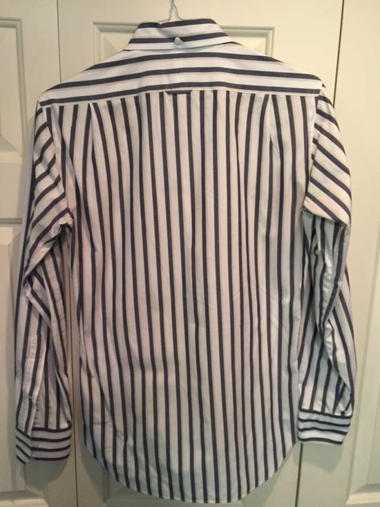 Thom Browne Classic Shirt In Thick Stripe Poplin Size US M / EU 48-50 / 2 - 4