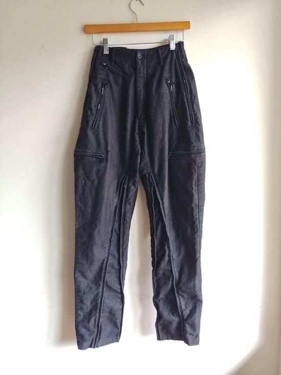 """Julius (Fits 28-32) FW13/14 """"Crack:"""" Zip Pants Size US 30 / EU 46"""