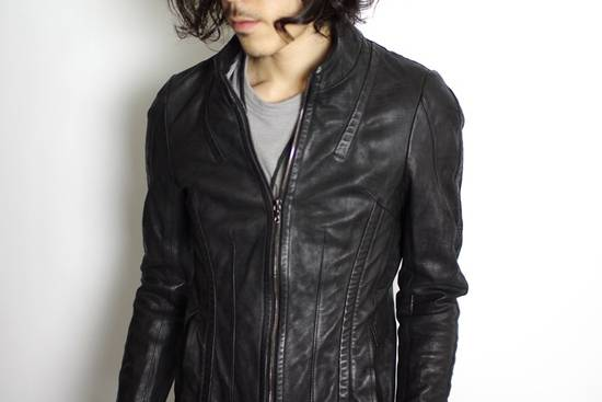 Julius Calf Leather Moto Jacket Size US M / EU 48-50 / 2