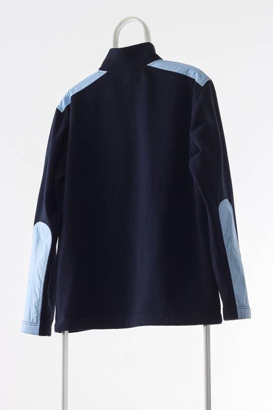 Vintage Mens BMW Fleece Half Zip Pullover Jacket A4361