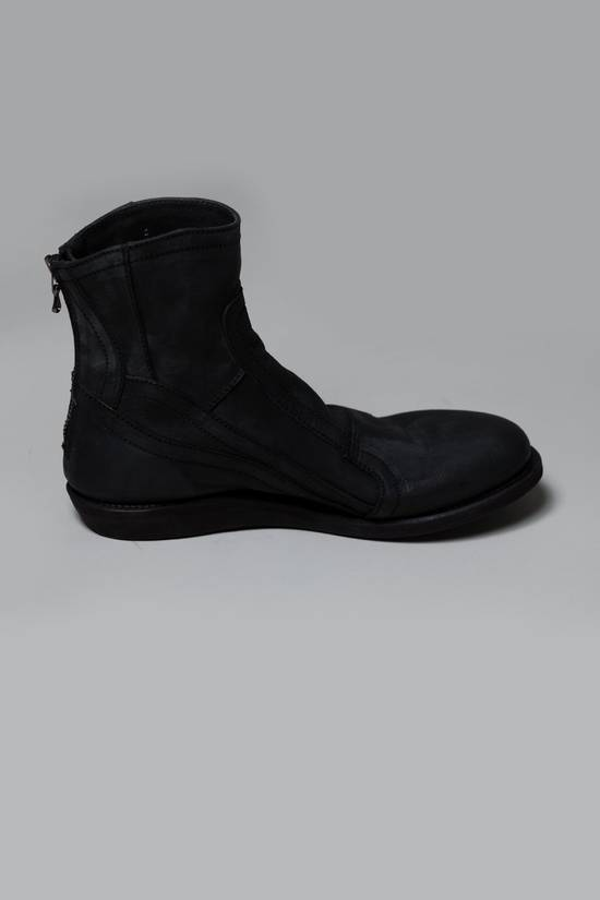 Julius SS12 [edge;] Cowhide Wedge-sole Back-zip Boots Size US 9 / EU 42 - 2