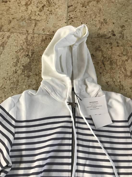 Balmain Stripe White & Grey Hoodie Size US S / EU 44-46 / 1 - 6