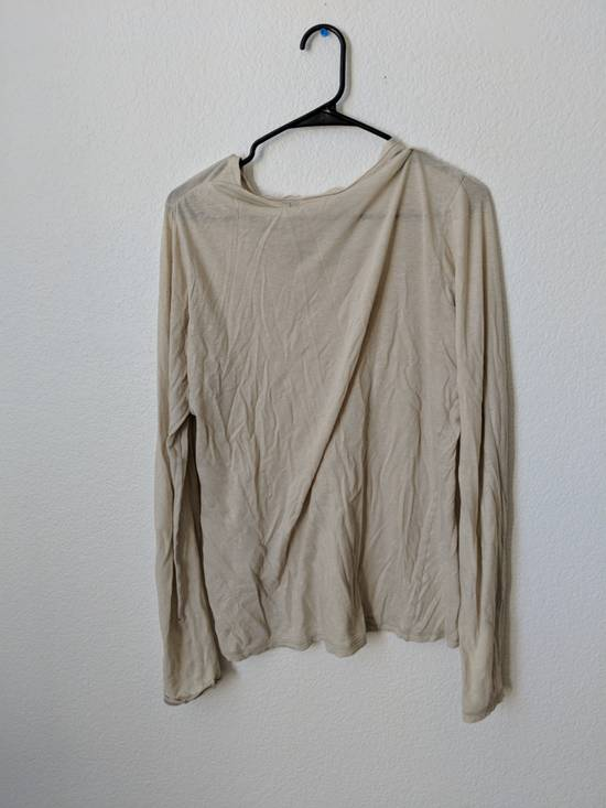 Julius Beige Sheer Long Sleeve Shirt Size US M / EU 48-50 / 2 - 1