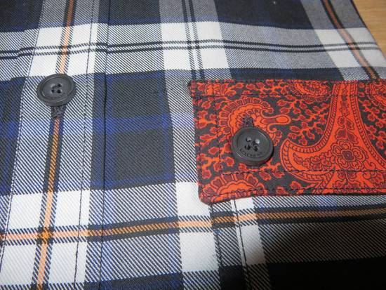 Givenchy Paisley-check print shirt Size US L / EU 52-54 / 3 - 3