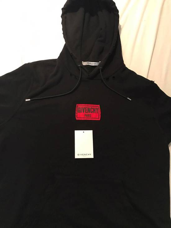Givenchy Givenchy Distressed Hoodie Size US M / EU 48-50 / 2