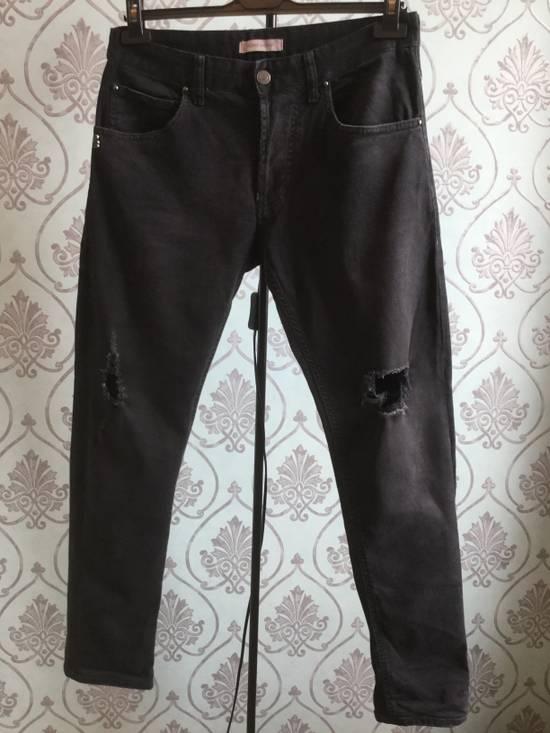 Balmain ARCHIVE Pierre Balmain biker destroyed slim jeans Size US 32 / EU 48 - 4