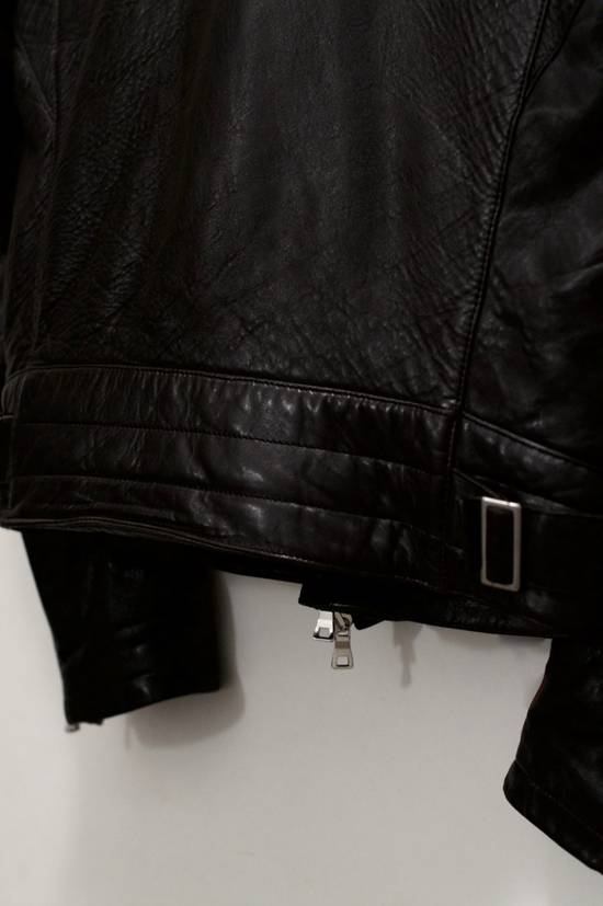 Balmain RARE! Lambskin Leather Biker Jacket Size US L / EU 52-54 / 3 - 4