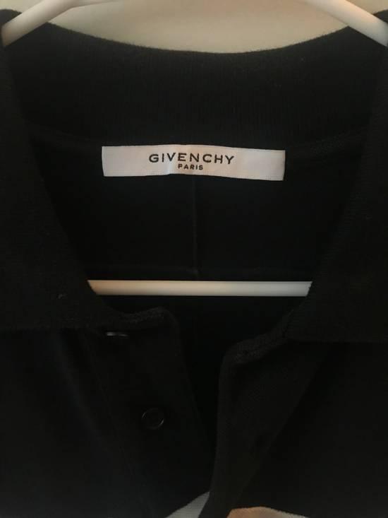 Givenchy White Stripe Black Polo Size US L / EU 52-54 / 3 - 4