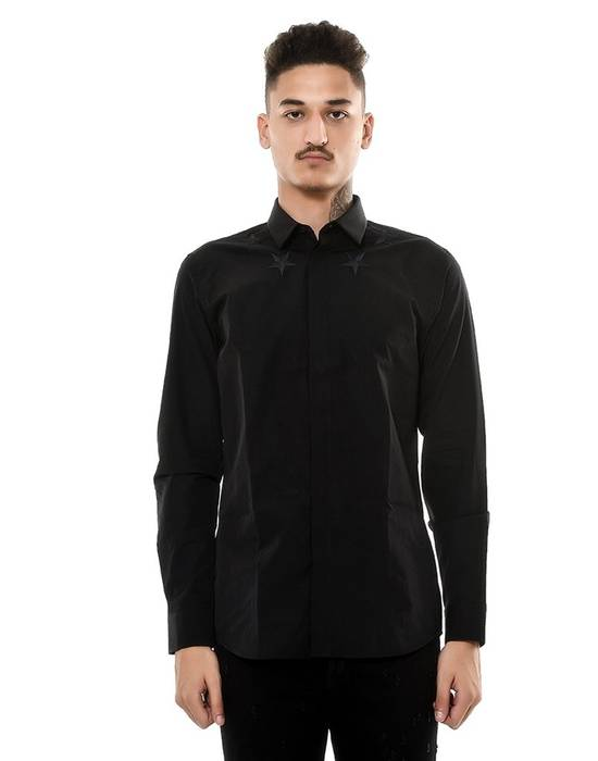 Givenchy Givenchy Black Stars Shirt (Size - 43) Size US S / EU 44-46 / 1