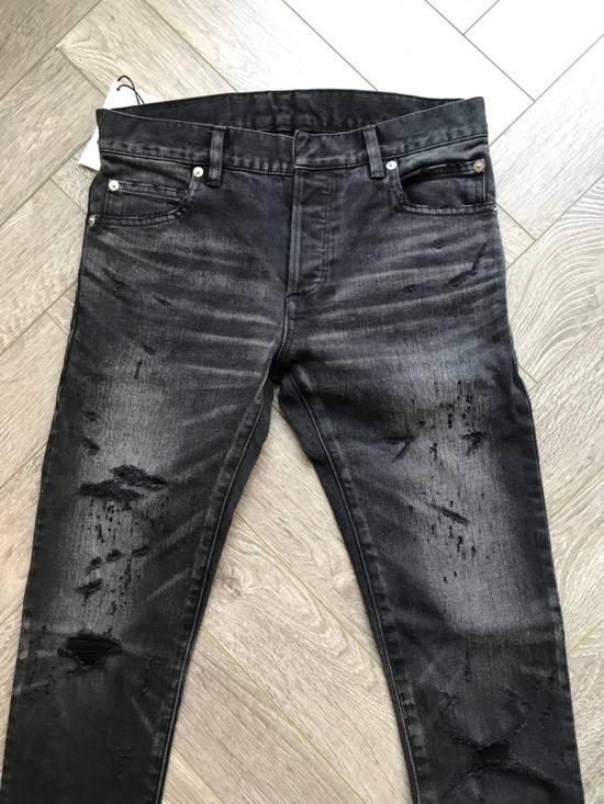 Balmain grey washed denim Size US 28 / EU 44