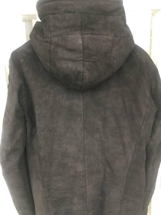 Julius Julius leather hood jacket Size US M / EU 48-50 / 2 - 6