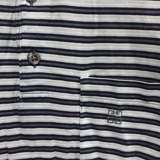 Givenchy Givenchy Paris Polo Shirt Striped Single Pocket Stretchable Fabric Luxury Top Designer Made in Italy Size US M / EU 48-50 / 2 - 3