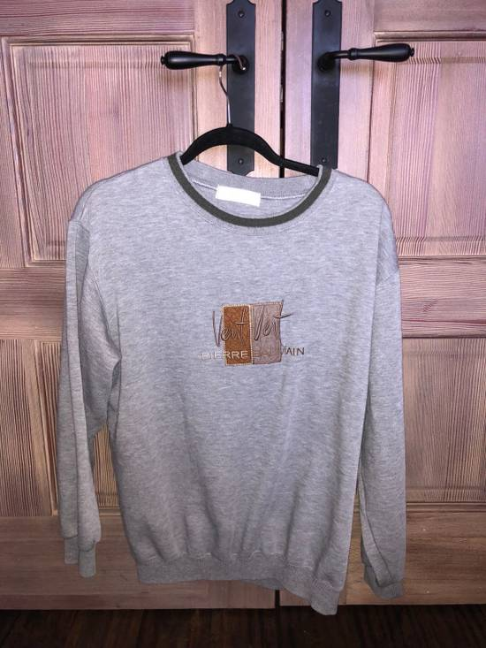 Balmain Grey Crew Neck Sweater Size US L / EU 52-54 / 3