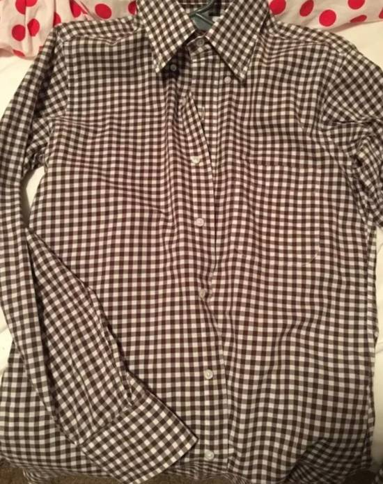 Thom Browne Thom Browne shirts brown size 1 checker used hype deal dress casual Size US S / EU 44-46 / 1