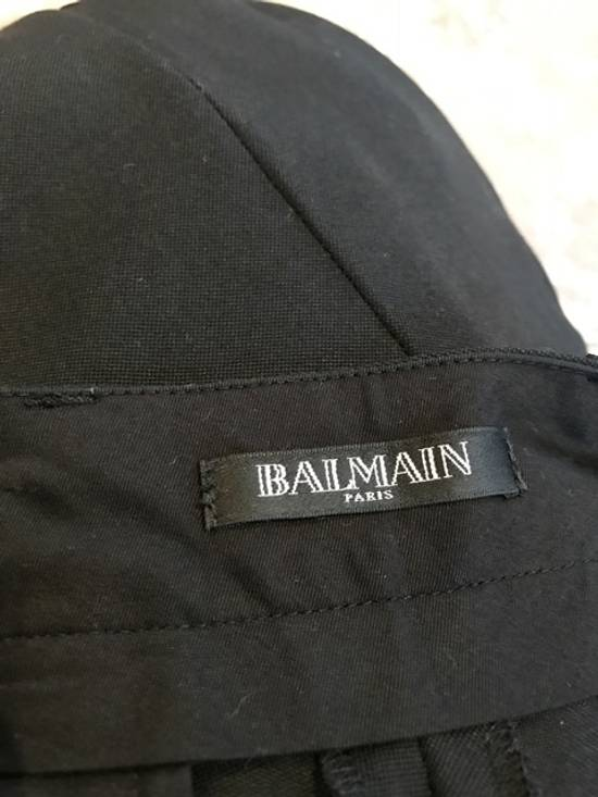 Balmain Balmain Black Tuxedo Band Trousers Size US 30 / EU 46 - 5