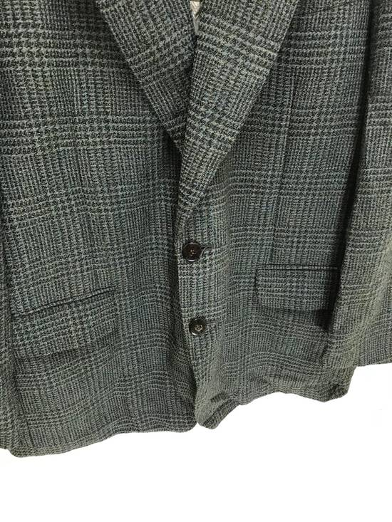 Givenchy Monsieur Givenchy Wool Blazer Tartan Plaid Vintage Size 44R - 2