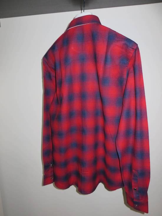 Givenchy Flannel check- shirt Size US M / EU 48-50 / 2 - 9