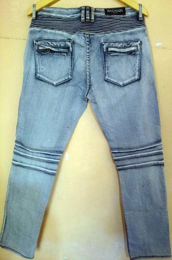 Balmain Balmain Biker Jeans Not Prada Burberry Hermes Gucci Rick Owens Issey miyake commes des Garcons a.p.c acne momotaro Size US 32 / EU 48 - 2