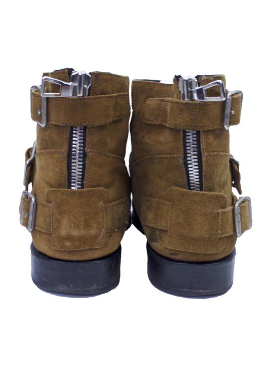 Balmain Balmain x H&M Tan Biker Boots Size US 10 / EU 43 - 2