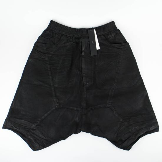 Julius 7 Black Sarqouel Stretch Denim Shorts Size M Size US 34 / EU 50