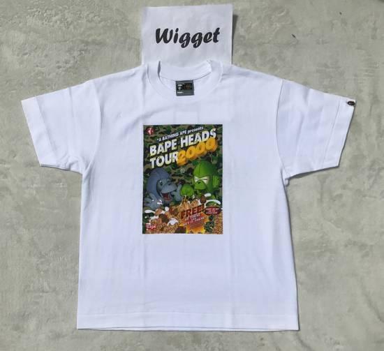 Bape A Bathing Ape Bape Camo Heads Tour T Shirt 2000 Vintage OG Bape NIGO M Medium Size US M / EU 48-50 / 2