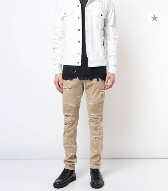 Balmain Balmain Camouflage Biker Jeans Size US 34 / EU 50 - 6