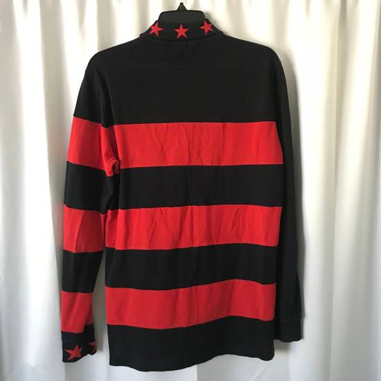 Givenchy $995 Givenchy Long Sleeve Stars and Stripes Polo Shirt Size US S / EU 44-46 / 1 - 1