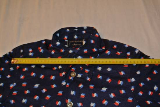 Givenchy Givenchy shirt blue vintage France flag print made in Italy size XS Size US XS / EU 42 / 0 - 6