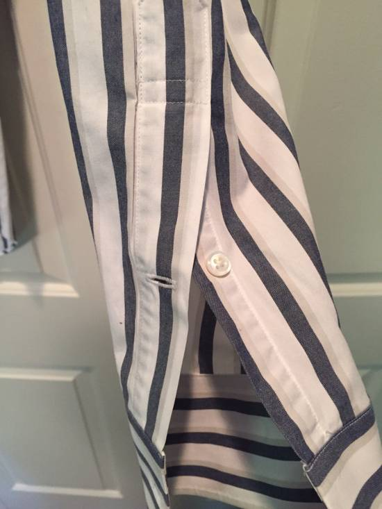 Thom Browne Classic Shirt In Thick Stripe Poplin Size US M / EU 48-50 / 2 - 3